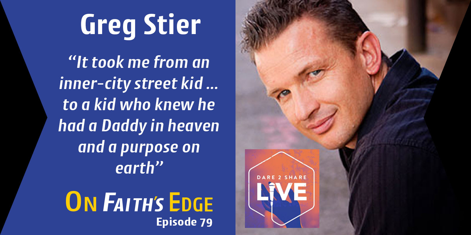 Post image for Energizing Teens to Live Their Faith – Speaker and Author Greg Stier | Episode 79